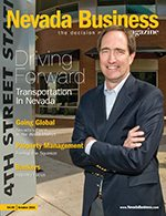 Nevada Business Magazine October 2011 Issue
