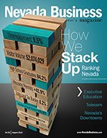 View the August 2013 Issue of Nevada Business Magazine