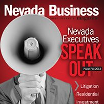 Nevada Power Poll 2013 - executives are beginning to see a light at the end of the tunnel.