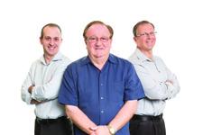 Tom Jr., Tom Sr. & Neil Guanci Campione D'Italia Foods