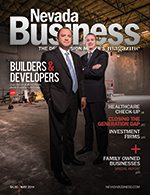 View the May 2014 issue of Nevada Business Magazine