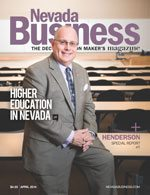 Nevada Business Magazine April 2014 View Issue