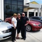 "Leading Park Place Infiniti sales agent: ""I'd rather sell cars than lipstick"""