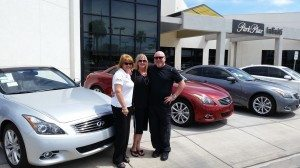 "Park Place Infiniti sales agent: ""I'd rather sell cars than lipstick""T"
