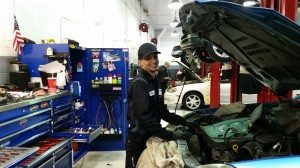 Robert Mowrer, a technician at Park Place Infiniti, launched himself into auto mechanics, helping his uncle who owned a local independent auto shop.