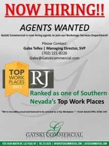 Gatski Commercial Real Estate Services is looking to expand our Brokerage Services Division.