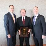 Henderson Chamber Awards Davis with Spirit of Henderson Award