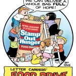 "Dunkin' Donuts will be participating in the upcoming National Association of Letter Carriers' ""Stamp Out Hunger"" Food Drive."