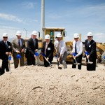 Nevada Governor Brian Sandoval joined Dermody Propertiesto celebrate the start of construction on LogistiCenter Cheyenne.