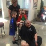 Centennial Toyota Rallies to Raise Funds for Childhood Cancer Patients: Team Members Shave Head for Kids