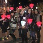 Las Vegas Decorator,  Lisa Escobar, Supports Light the Night Walk on November 7, 2015