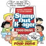 Local Letter Carriers to Participate in National Food Drive to 'Stamp Out Hunger' on Saturday, May 14