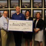 On June 2, NSB donated $10,000 to Nevada HAND to support its mission to provide affordable, quality housing for seniors and families, with supportive services.