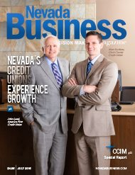 Nevada's Credit Unions Experience Growth