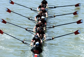 The competitive sport of rowing is now at Lake Las Vegas, the only place in Nevada to offer it.