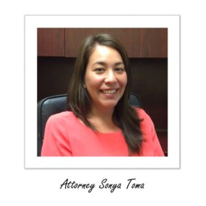 Right Lawyers is excited to announce Sonya Toma joining the firm.
