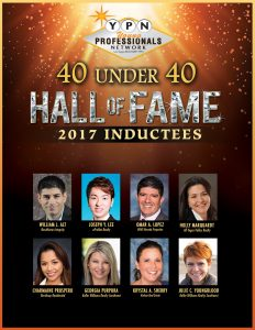"""The GLVAR and its Young Professionals Network of Las Vegas (YPN) have announced the winners of their annual """"40 Under 40"""" awards."""