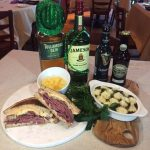 Table 34 Las Vegas St. Patrick's Day Menu Available for Lunch and Dinner On March 17
