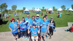 Local patients suffering from Crohn's disease and ulcerative colitis and their families and friends raised nearly $40,000 at the recent Take Steps Community Walk
