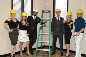 Shawn Danoski, CEO of Las Vegas-based DC Building Group, announced that the general contractor has been retained by Naqvi Injury Law to complete an office expansion and renovation