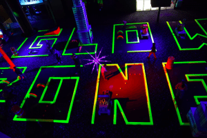 GlowZone, a family fun center in Las Vegas, offers themed events, including adult nights and specials for all ages during the months of May and June.