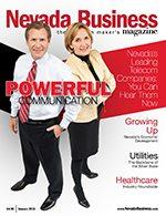Nevada Business Magazine January 2011 Issue