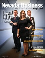Nevada Business Magazine June 2011 Issue
