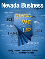 Nevada Business Magazine August 2010 Issue