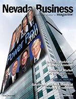 Nevada Business Magazine March 2010 Issue