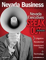 Nevada Business Magazine March 2013 Issue