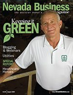 Nevada Business Magazine August 2009 Issues
