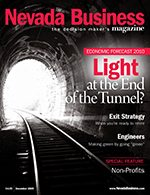 Nevada Business Magazine December 2009 Issue