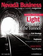 Nevada Business Magazine December 2009 Issue