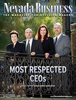 Nevada Business Magazine February 2009 Issue