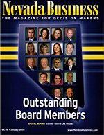 Nevada Business Magazine January 2009 Issue