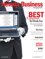 Nevada Business Magazine July 2009 Issue