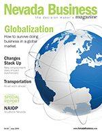 Nevada Business Magazine June 2009 Issue