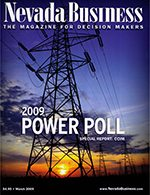 Nevada Business Magazine March 2009 Issue