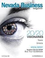 Nevada Business Magazine October 2009 Issue