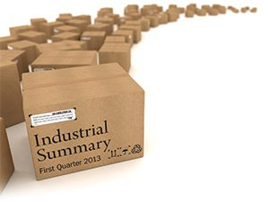 A look at the Nevada commercial real estate industrial summary: First Quarter 2013.