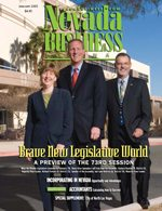 Nevada Business Magazine January 2005 View Issue