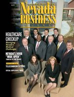 Nevada Business Magazine June 2005 View Issue