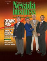 Nevada Business Magazine October 2005 View Issue