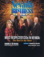 Nevada Business Magazine April 2005 Issue
