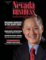 Nevada Business Magazine February 2006 View Issue