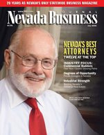 Nevada Business Magazine July 2006 View Issue
