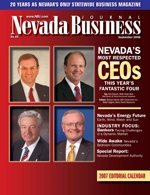 Nevada Business Magazine September 2006 View Issue
