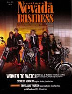 Nevada Business Magazine April 2003 View Issue