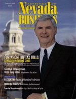 Nevada Business Magazine January 2003 View Issue