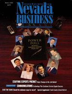 Nevada Business Magazine March 2003 View Issue
